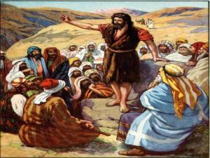 Juan predicando en el desierto